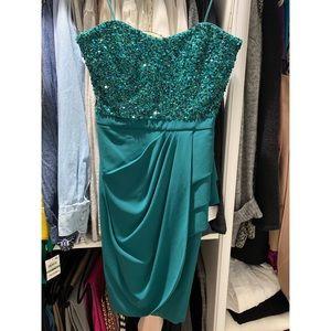 Badgley Mischka Cocktail Prom Dress Size 4